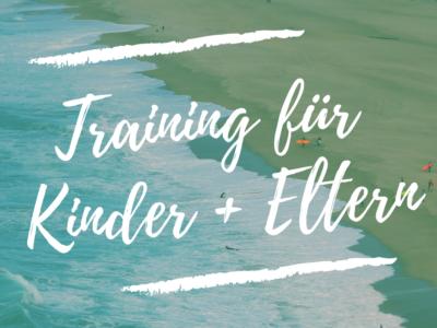 Training für Kinder + Eltern