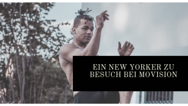 """Ein Kampfkünstler aus New York bei den """"Movement-Mönchen"""" in Berlin"""